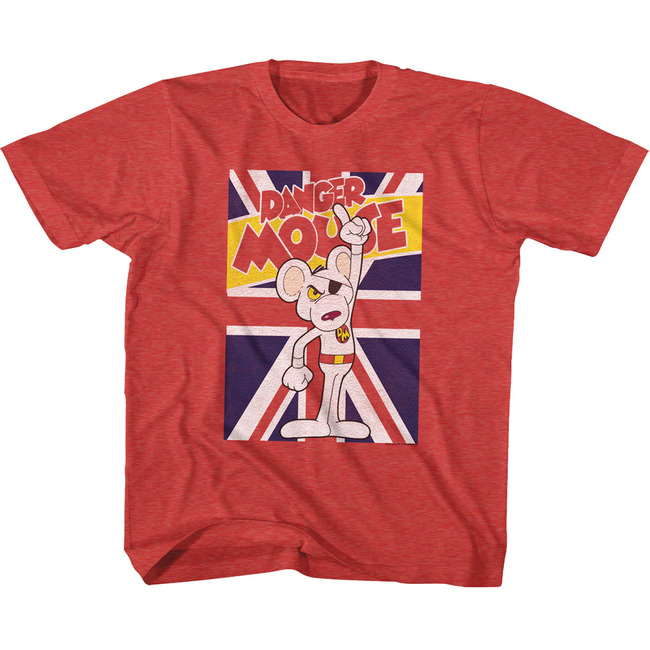 Danger Mouse Vintage Red Toddler T-Shirt