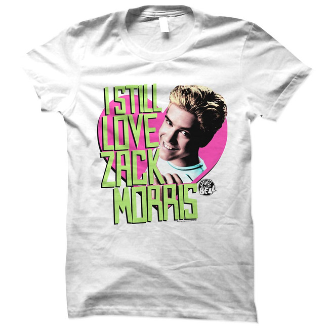 Saved by the Bell Always White Junior Women's T-Shirt