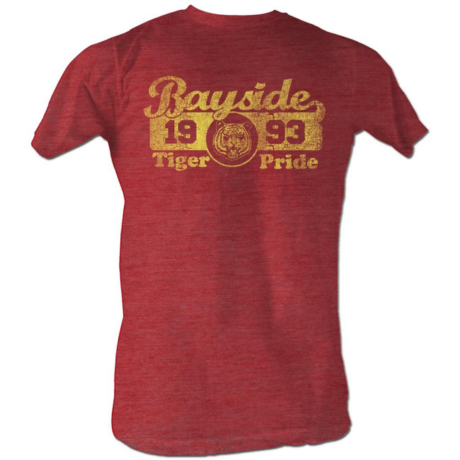 Saved by the Bell Bayside Pride Cherry Heather T-Shirt