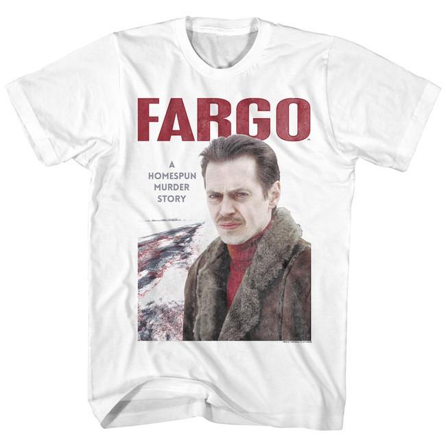 Fargo Steve White Adult T-Shirt