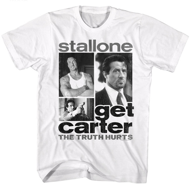 Get Carter Collage White Adult T-Shirt
