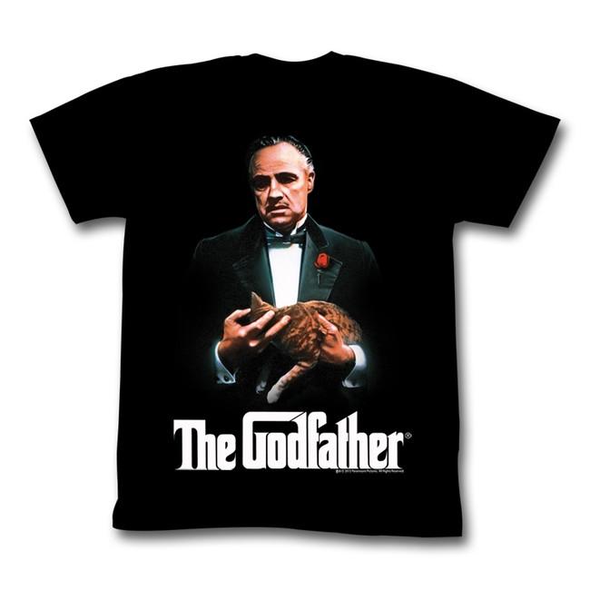 Godfather New G Black Adult T-Shirt