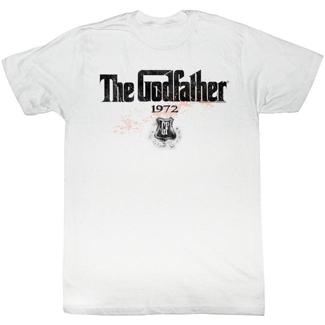 Godfather 1972 White Adult T-Shirt
