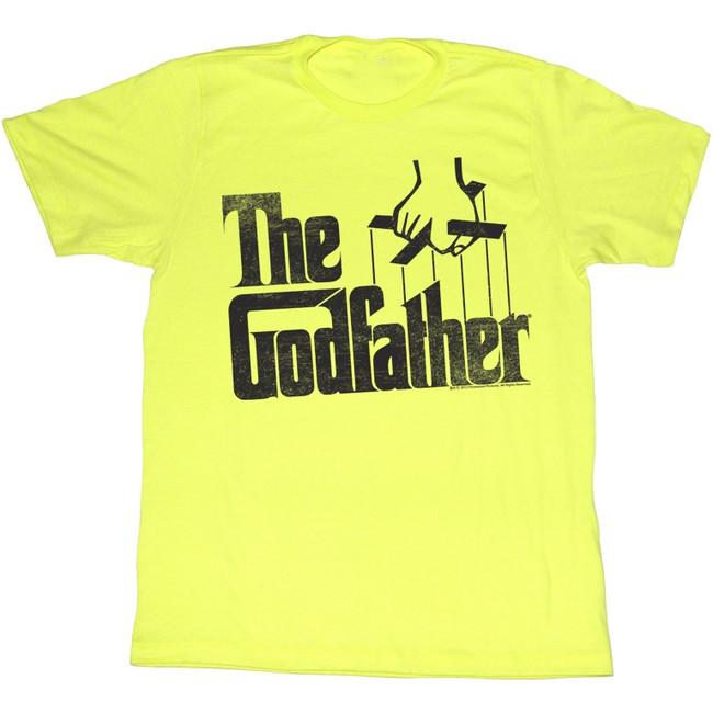 Godfather Logo Yellow Heather Adult T-Shirt