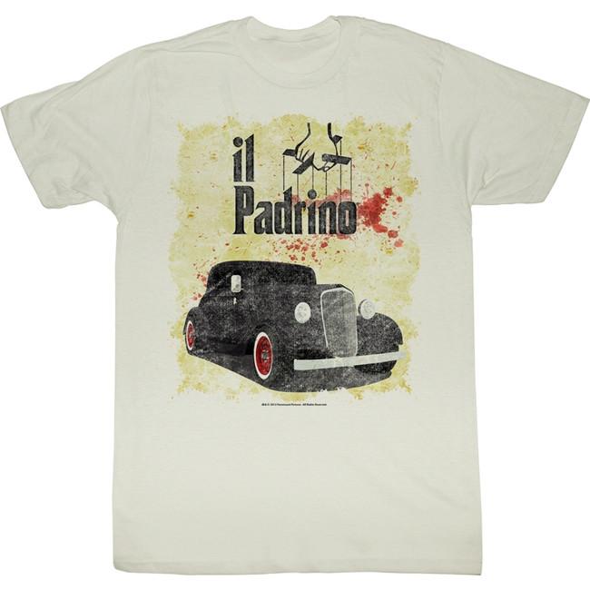 Godfather Respect Me Natural Adult T-Shirt