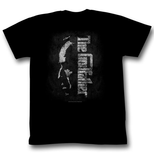 Godfather Shadow Black Adult T-Shirt