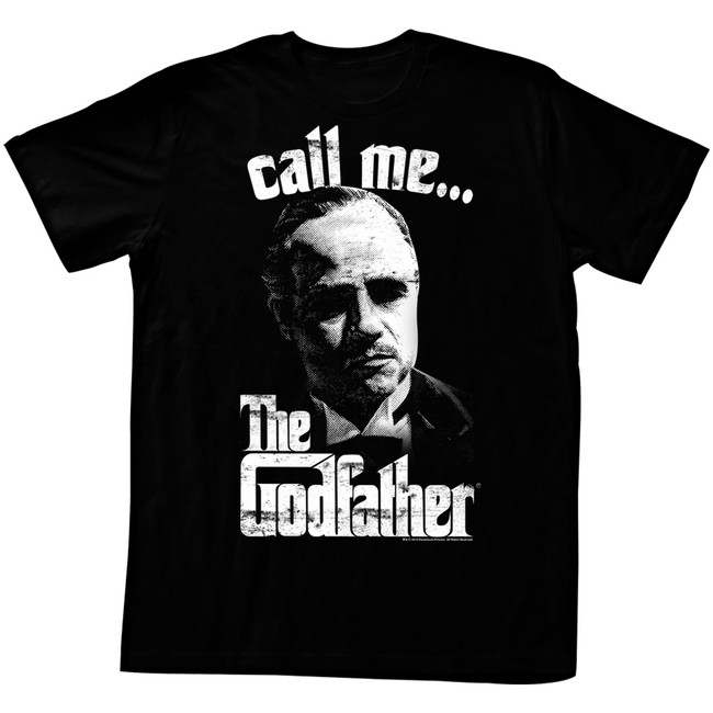 Godfather Call Me Black Adult T-Shirt