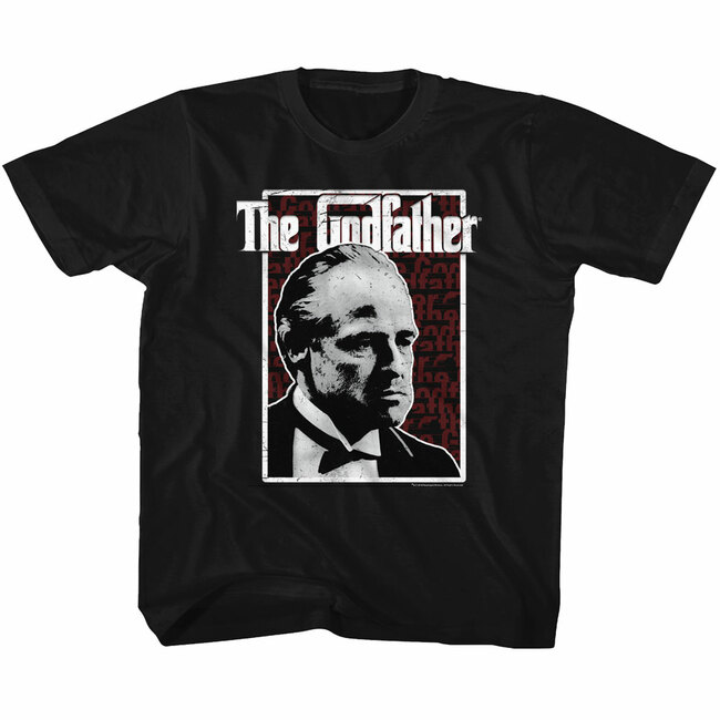 Godfather Seeing Red Black Toddler T-Shirt