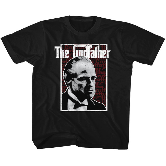 Godfather Seeing Red Black Youth T-Shirt