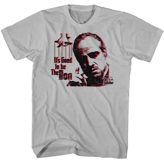 Godfather Good To The Don Silver Adult T-Shirt
