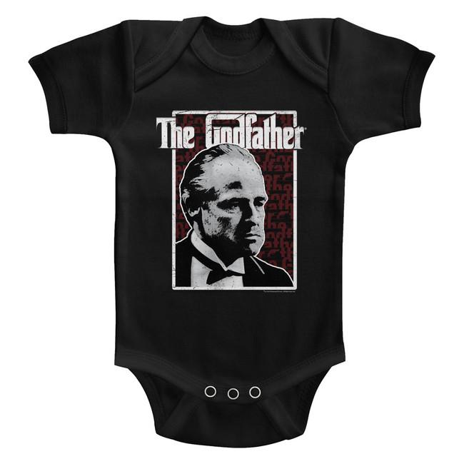Godfather Seeing Red Black Baby Onesie T-Shirt