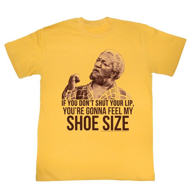Redd Foxx Sanford and Son Shoe Size Ginger T-Shirt