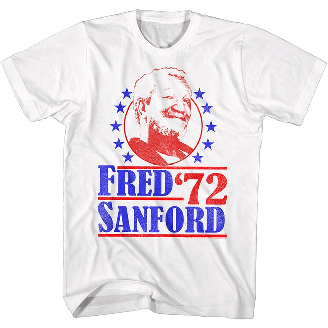 Redd Foxx Sanford and Son Vote For Fred White T-Shirt