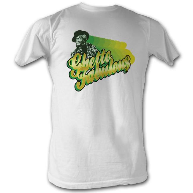 Redd Foxx Sanford and Son Ghetto Fabulous White T-Shirt