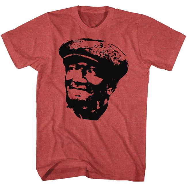 Redd Foxx Sanford and Son Revolution Cherry Heather T-Shirt