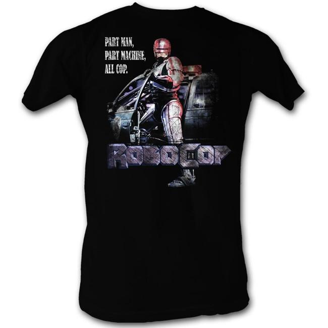 Robocop All Cop Black T-Shirt