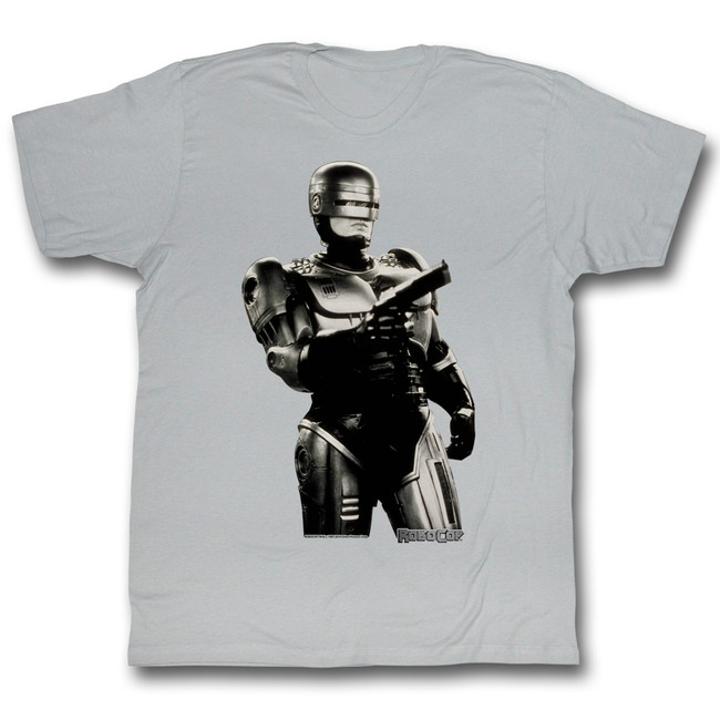 Robocop Bang Bang Silver T-Shirt