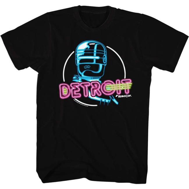 Robocop Neon Black T-Shirt
