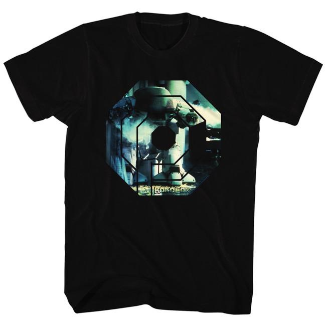 Robocop Ed 209 Black T-Shirt