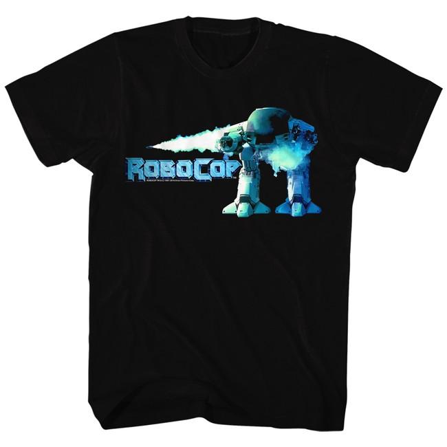 Robocop Robocop Ed 209 Black T-Shirt