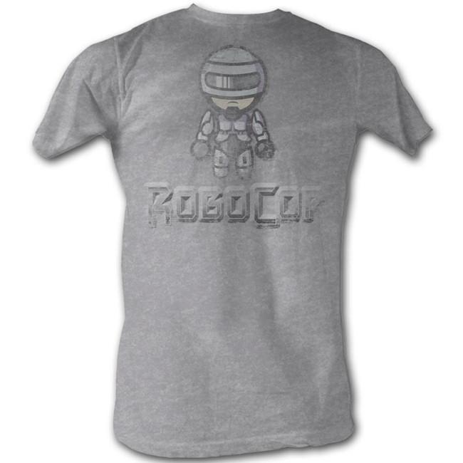 Robocop Robocop Avi Gray Heather T-Shirt