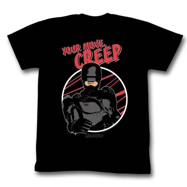 Robocop Creepo Black T-Shirt