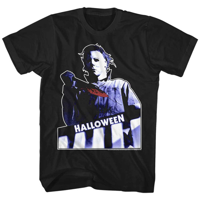 Halloween Top Floor Black Adult T-Shirt