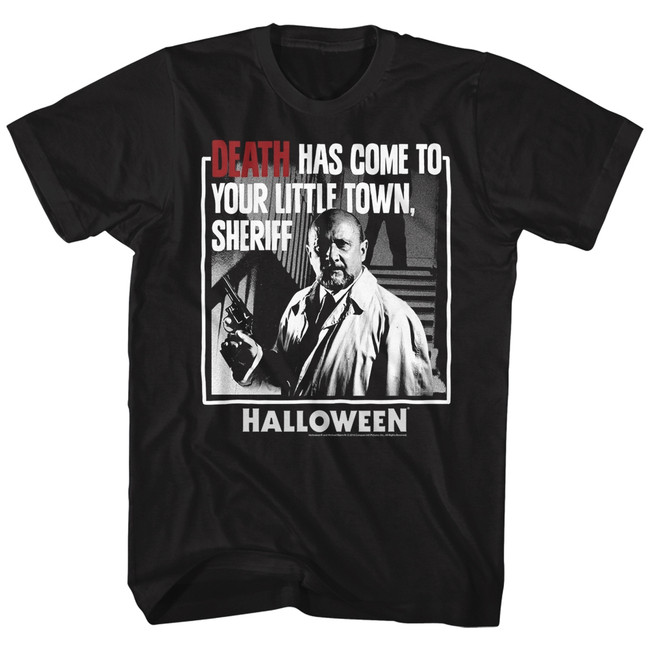 Halloween Death Black Adult T-Shirt