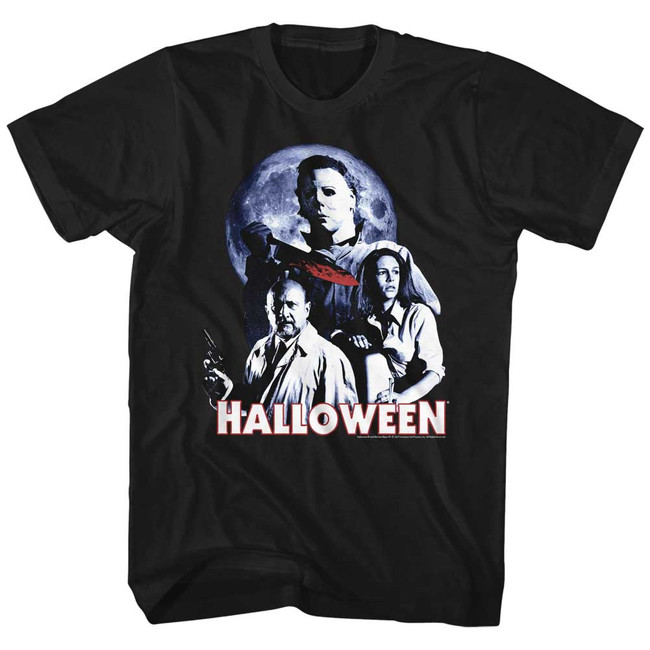 Halloween Ensemble Black Adult T-Shirt