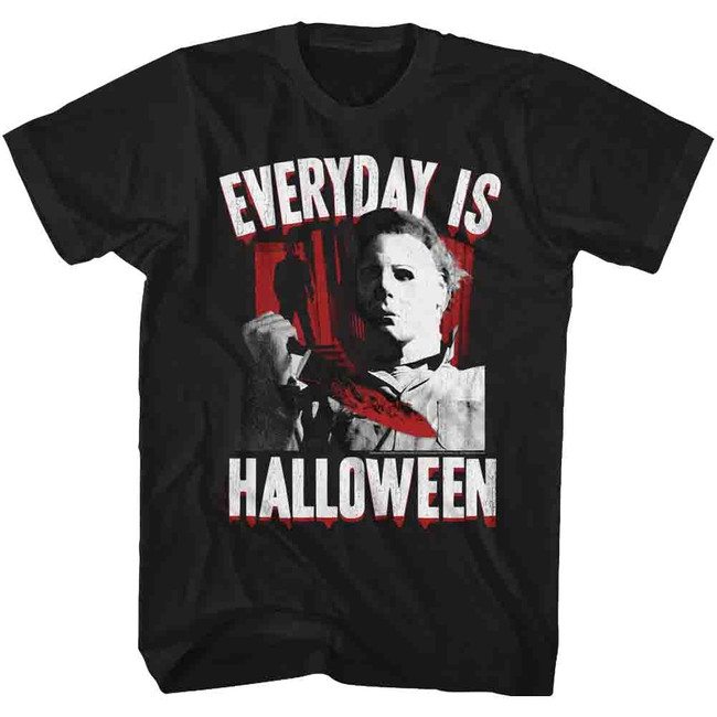 Halloween Everyday Black Adult T-Shirt