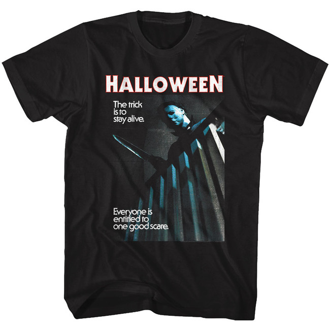 Halloween Stay Alive Black Adult T-Shirt