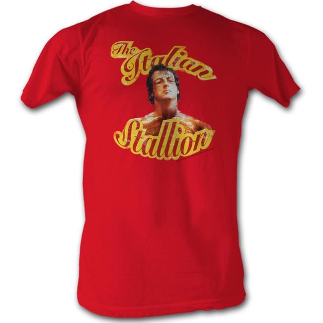 Rocky Beaten Cherry Heather T-Shirt