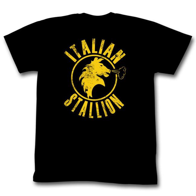 Rocky Black Stallion Black T-Shirt