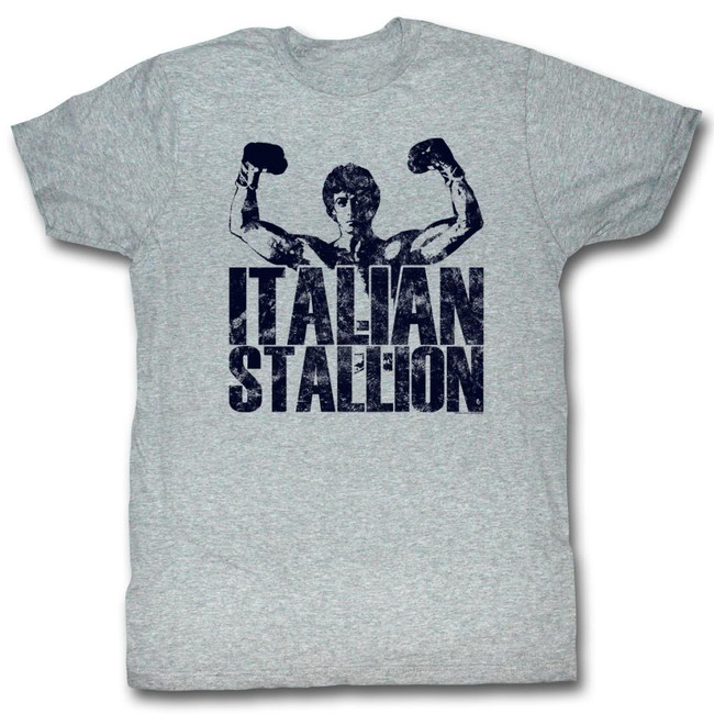 Rocky Classic Stallion Gray Heather T-Shirt