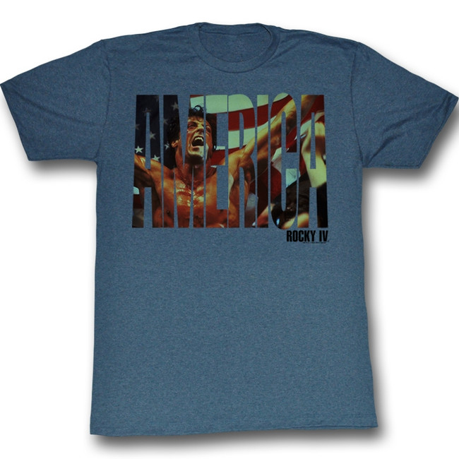 Rocky America Navy Heather T-Shirt
