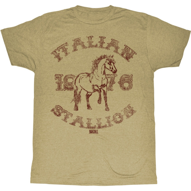 Rocky 1967 Stallion Khaki Heather T-Shirt