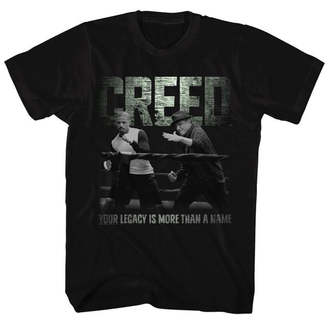 Rocky Embrace The Legacy Black T-Shirt