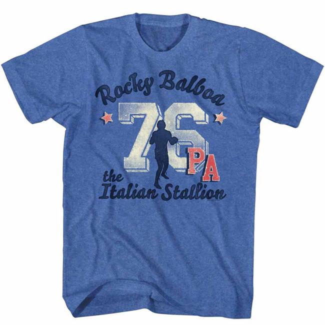 Rocky Ath 76 Take 2 Royal Heather T-Shirt