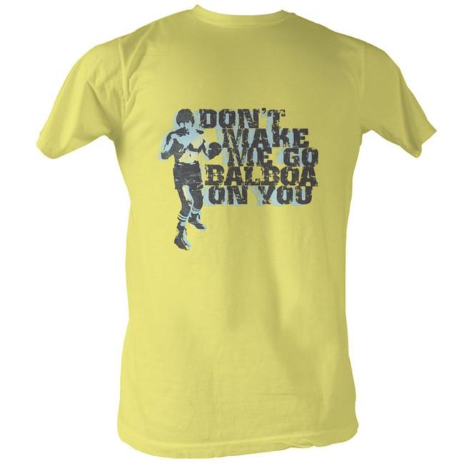 Rocky Balboa On You Yellow T-Shirt