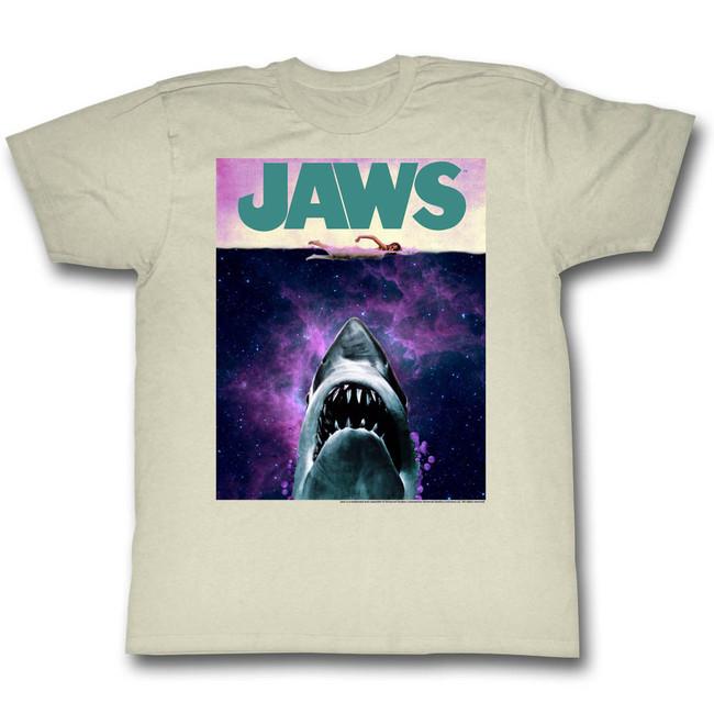 Jaws Adventures Natural Adult T-Shirt