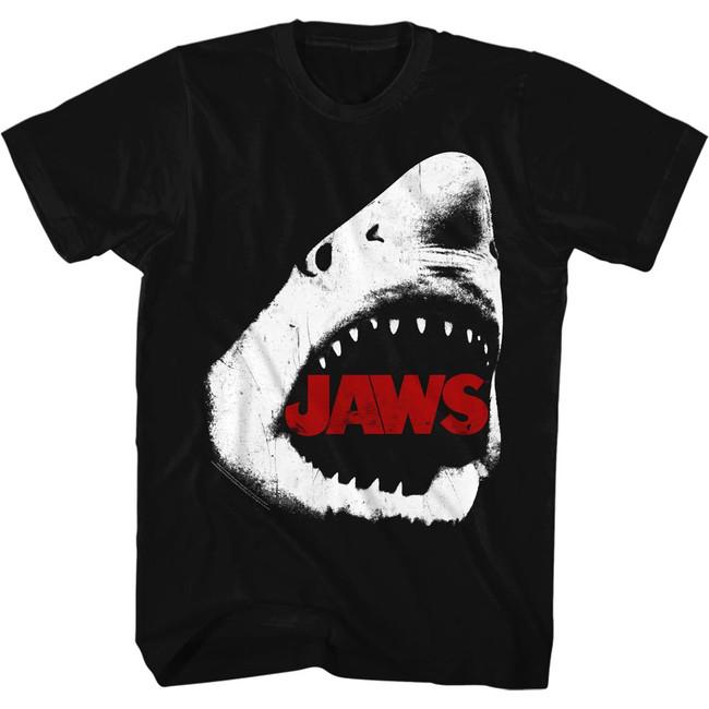 Jaws Comin' For U Black Adult T-Shirt