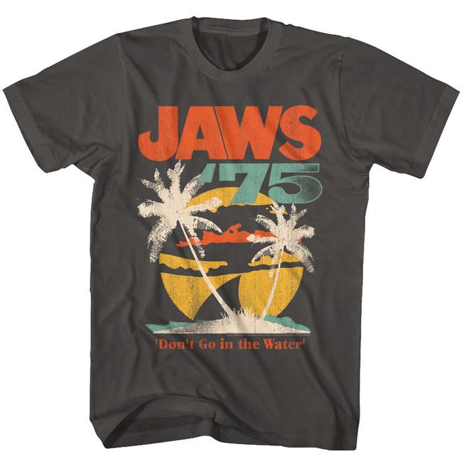 Jaws 75' Smoke Adult T-Shirt