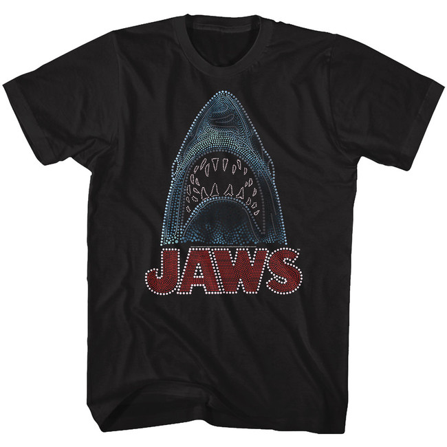 Jaws Be Dazzled Black Adult T-Shirt