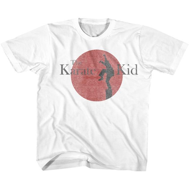 Karate Kid 80's Logo White Toddler T-Shirt