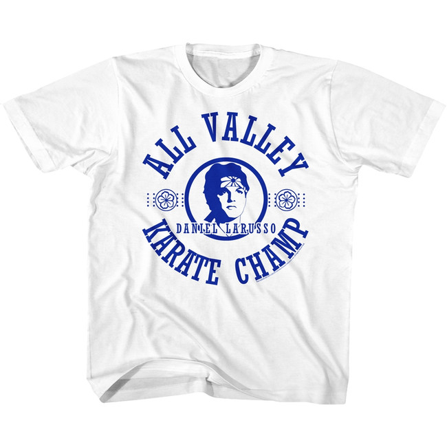 Karate Kid All Valley White Youth T-Shirt