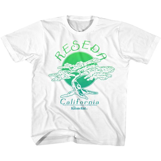 Karate Kid Cali Yellow Toddler T-Shirt