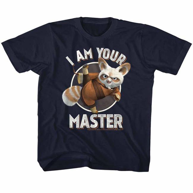 Kung Fu Panda Master Navy Children's T-Shirt