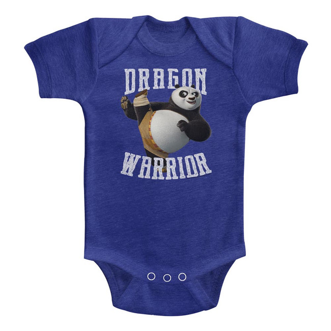 Kung Fu Panda D-Warrior Vintage Royal Baby Onesie T-Shirt