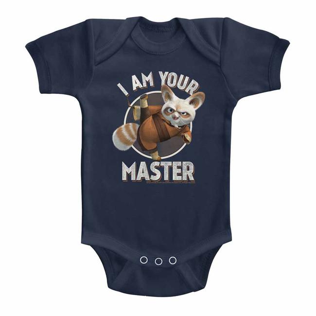 Kung Fu Panda Master Navy Baby Onesie T-Shirt