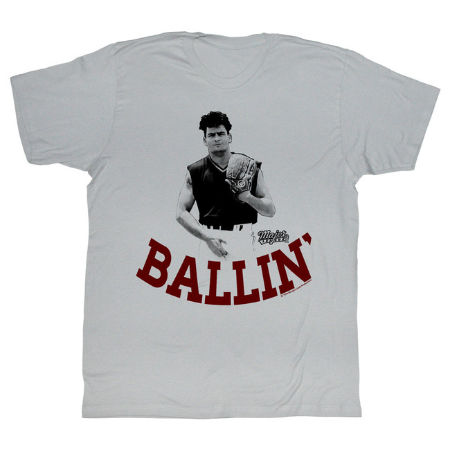 Major League Ballin' Silver Adult T-Shirt